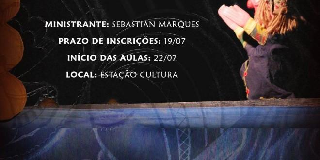 Oficina de Mamulengos e Teatro de Bonecos na Estação Cultura ainda tem inscrições abertas