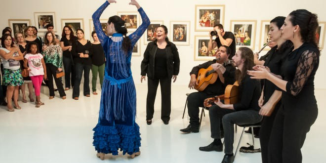 Música e passos do flamenco embalam homenagem a Bernardo Caro e 50 anos do MACC
