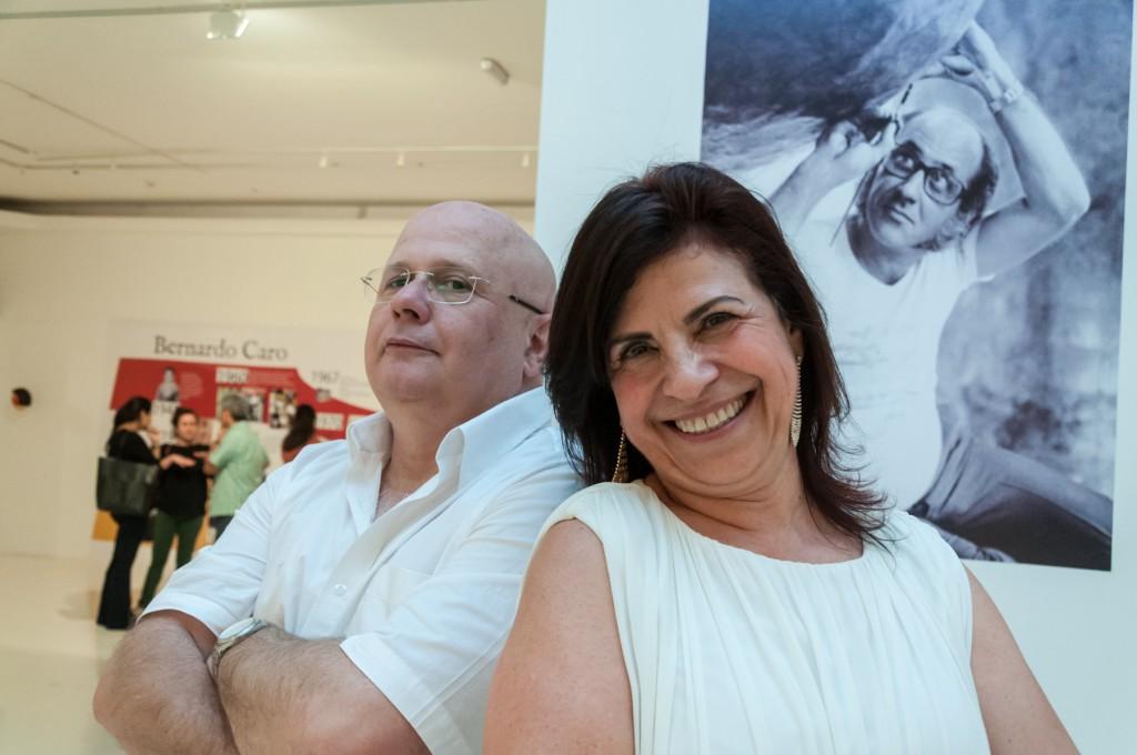 Fernando de Bittencourt e Iracema Salgado, curadores da exposição