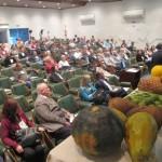 No encontro em Campinas também foi feita a defesa da agricultura familiar (Foto José Pedro Martins)