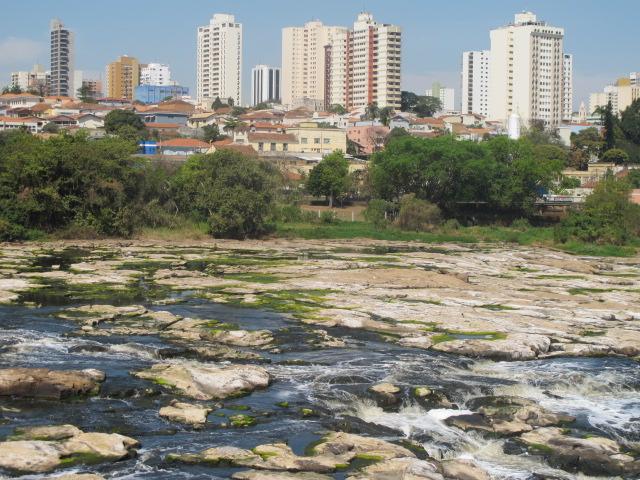 Rio Piracicaba chegou a um terço da média histórica em agosto (Foto José Pedro Martins)