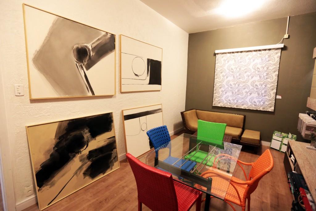 Exposição contempla obras da fase mais abstrata do artista