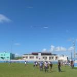Campeonato de Pipa da Escola Municipal Paroquial São Miguel, em Ipojuca, uma das escolas pernambucanas participantes do Programa (Foto José Pedro Martins)