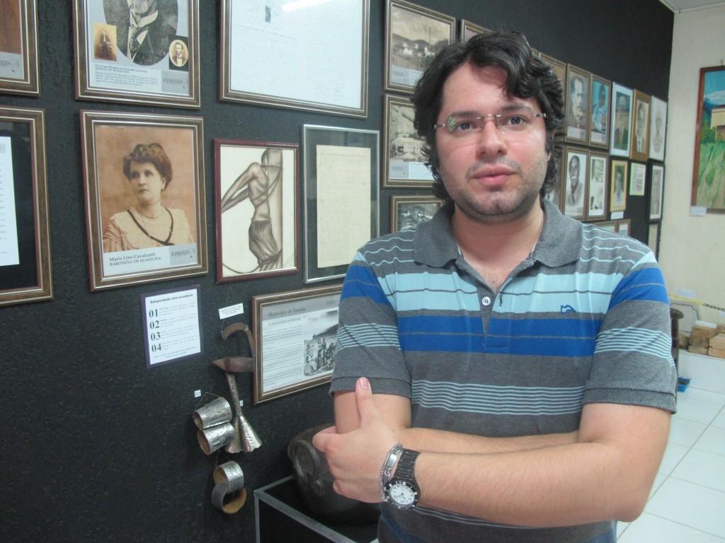 Marcos Cavalcanti Pereira, jovem e inquieto curador