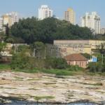 Rio Piracicaba está com menos de um quinto da média histórica do mês (Foto José Pedro Martins)