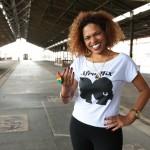 A campineira Ilcéi Miriam, que é música profissional e historiadora de formação, é uma das organizadoras da Feira Afro Mix, em Campinas   (Foto: Adriano Rosa)