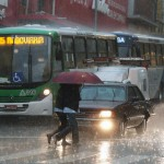 Chuva no centro de Campinas: cidade estará mais preparada para eventos extremos (Foto Adriano Rosa)