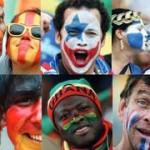 """Ilustração que faz parte do relatório """"Colour? What colour?"""", da Unesco e Juventus da Itália"""