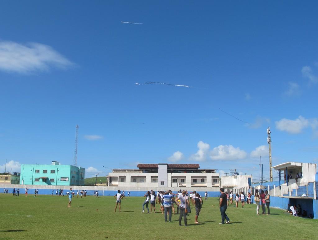 Campeonato de pipa em Ipojuca, Pernambuco, como parte de projeto apoiado no Programa Escola em Movimento (Foto José Pedro Martins)