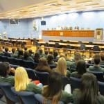 Evento no Dia Municipal de Combate à Corrupção reuniu muitos jovens na Câmara de Campinas (Fotos Jose Pedro Martins)