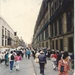 No México, a fortuna de quatro multimilionários era de 2% do PIB em 2002 e atingiu 9% em 2014, segundo a Oxfam (Foto José Pedro Martins)