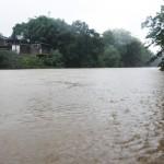 Rio Atibaia voltou a encher com as fortes chuvas de dezembro (Foto Adriano Rosa)