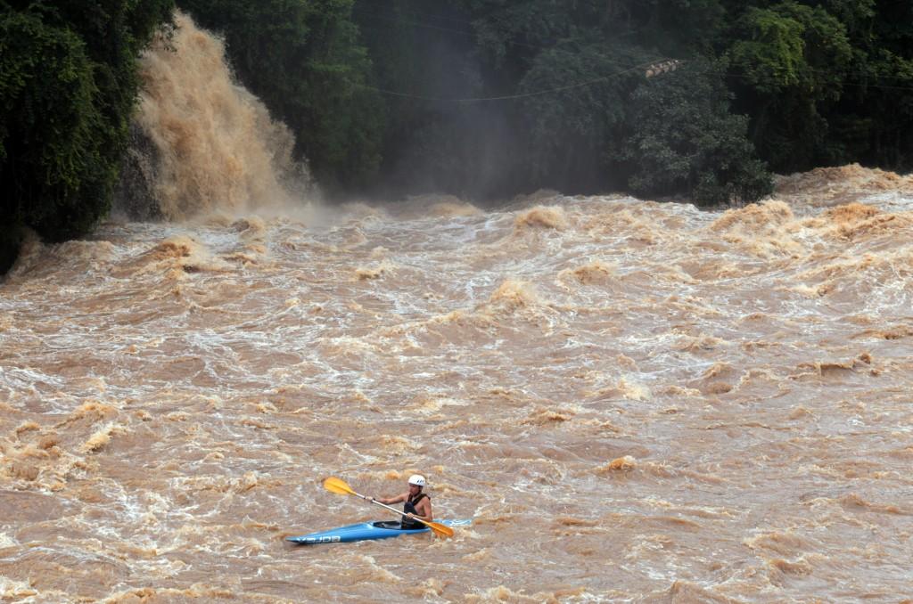 Vazão do rio Piracicaba tem atingido índices históricos neste início de 2016 (Foto Adriano Rosa)