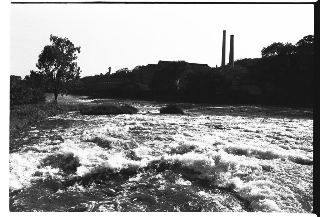 Rio Piracicaba na década de 1990: a luta em defesa das águas é antiga na cidade e região (Foto Adriano Rosa)