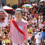 O mais antigo bloco carnavalesco de Campinas comemorou seus 70 anos com samba-enredo que celebra a história da Vila Industrial   (Foto Adriano Rosa)