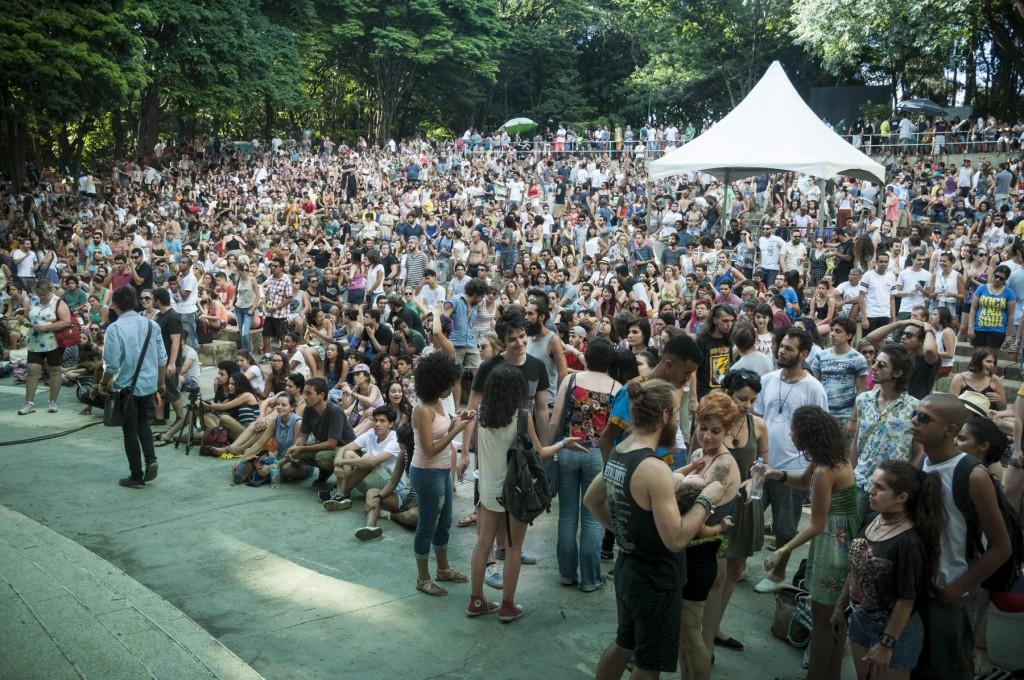 No domingo pré-Carnaval, o rock ratificou o potencial da diversidade musical (Foto Martinho Caires)