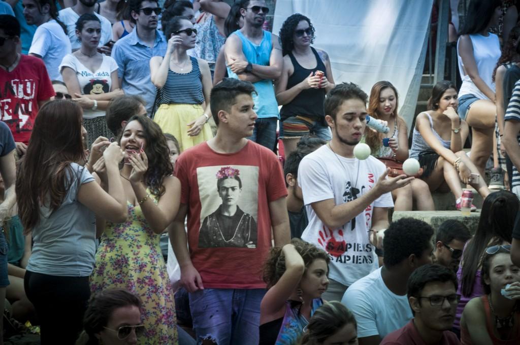 Festival foi pura diversão para um público diversificado (Foto Martinho Caires)