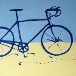 """Obra de Luiz Cavalli, que integra a exposição """"Eu vou de bike"""" (Foto Divulgação)"""