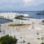 Inaugurado há dois meses, o Museu do Amanhã no Rio de Janeiro foi construído na histórica Praça Mauá em frente à Baía da Guanabara  Fotos: Adriana Menezes