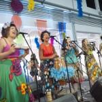 Cia Cabelo de Maria apresentou no Sesc Campinas os baianás alagoanos, que têm afinidade com os antigos reisados e o samba matuto   Fotos: Martinho Caires