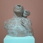 Obra de Maria Regina Ceccarelli, da coletiva O Dia que a Arte Chegou (Foto Divulgação)
