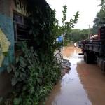 Enchente do rio Atibaia em Sousas, nesta sexta-feira, 11 de março (Foto Adriano Rosa)