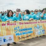 Centenas de famílias participaram da 5ª Caminhada pela Inclusão em Campinas, que começou às 9h na Praça Arautos da Paz    Fotos: Martinho Caires