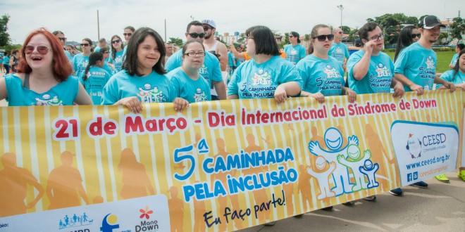 Pessoas com Síndrome de Down pedem mais espaço na sociedade na Caminhada pela Inclusão em Campinas