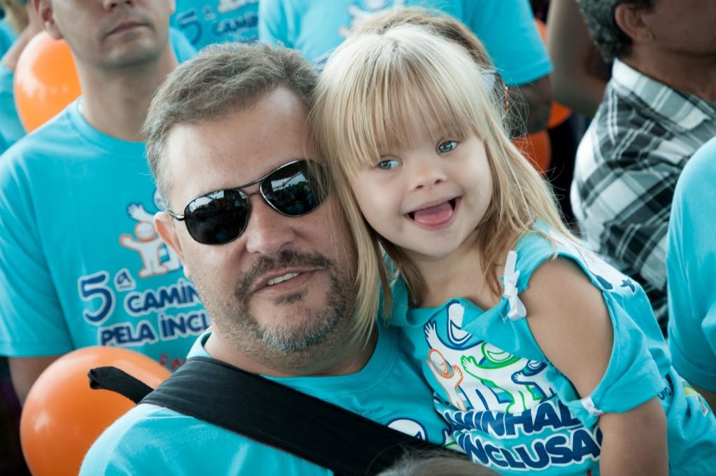 A alegria espontânea e muita descontração marcaram a comemoração antecipada do Dia Internacional da Síndrome de Down, amanhã, 21 de março     Fotos: Martinho Caires