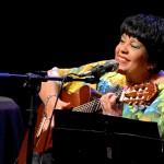 A voz doce e afinadíssima da cantora Rosa Passos, que comemora seus 35 anos de carreira, será acompanhada de 18 músicos, com arranjos especialmente criados para este show em Campinas   Crédito foto:  Mirna Módolo