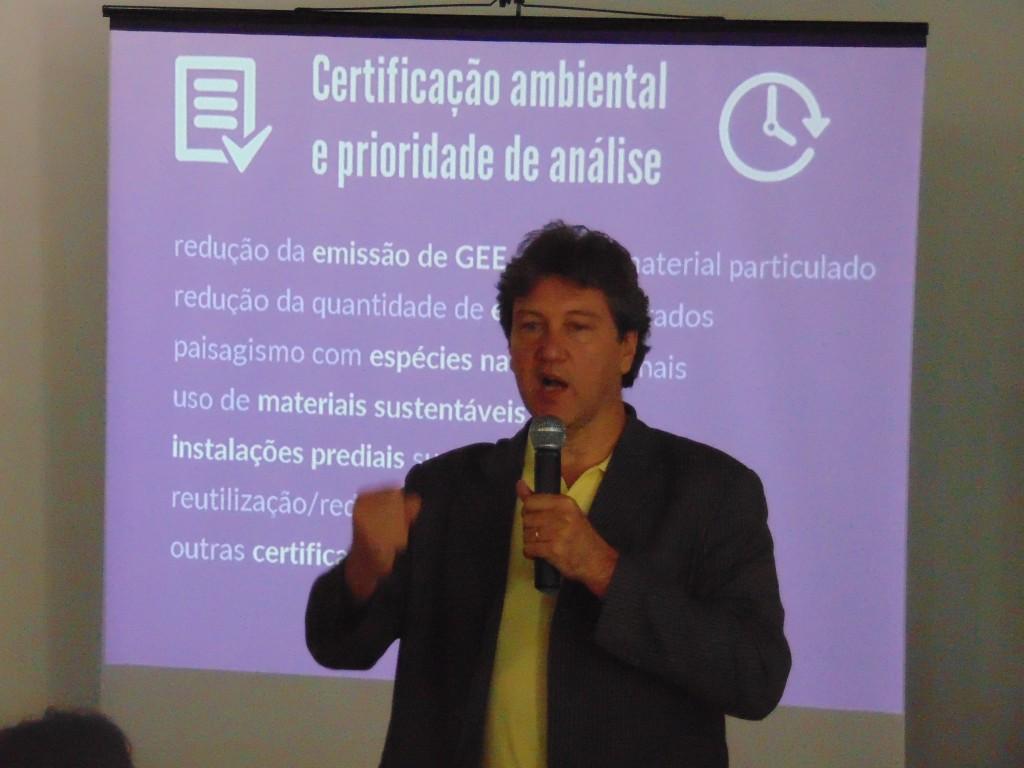 Rogério Menezes, presidente da ANAMMA: parecer da CCJ do Senado é grave retrocesso (Foto José Pedro Martins)
