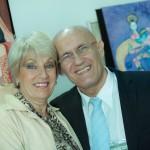 Olivier Pascalin, ex-primeiro bailarino da Ópera de Paris e ex-bailarino da Cia Maurice Béjart, e Lucila Moro, ex-primeira bailarina do Teatro Colón da Argentina, durante 43º Congresso de Dança Inclusiva da Unesco em Campinas    Fotos: Martinho Caires