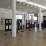 Exposição foi montada no saguão da Estação Cultura, centro de Campinas (foto Jose Pedro Martins)
