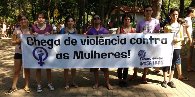 Coletivo promove caminhada denunciando violência contra mulher em Campinas