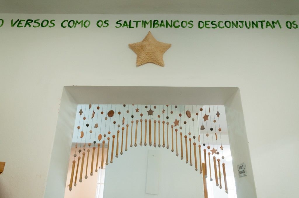 Frases por todo lado, a escritura como inspiração (Foto Martinho Caires)