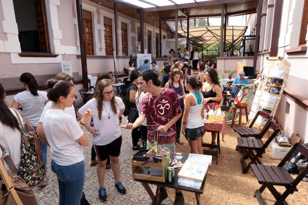 II Feira da Sustentabilidade reúne vários expositores na Casa do Marquês, em Piracicaba (Foto Adriano Rosa)