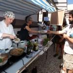 Alimentação sustentável, também presente na segunda edição da Feira da Sustentabilidade, em Piracicaba (Foto Adriano Rosa)