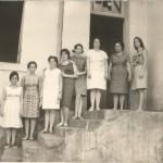 """Professoras do Grupo Escolar Minas Gerais, atual Escola """"Jose Soares de Araújo"""""""