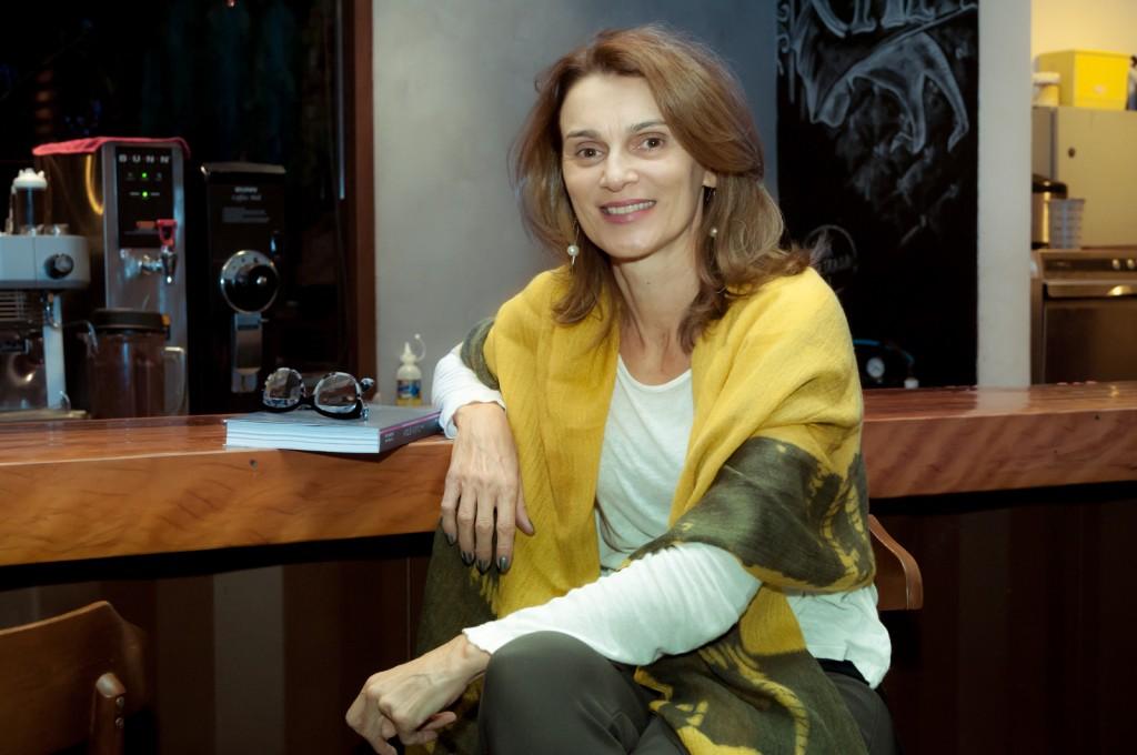 """Ana Helena Grimaldi: """"Ateliê transformador"""" (Foto Martinho Caires)"""