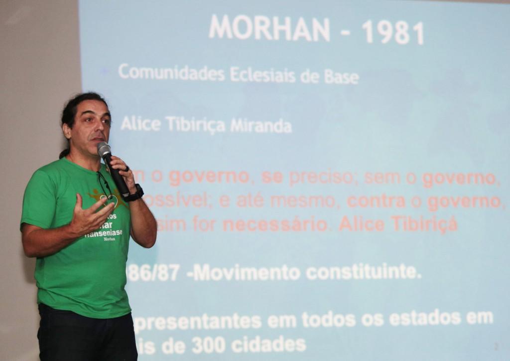 Artur Custódio observou que ainda não enormes os desafios relacionados à hanseníase no Brasil (Foto Adriano Rosa)