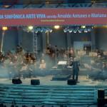 Concerto mais uma vez lotou o Auditório Beethoven, mais conhecido como Concha Acústica (Foto Martinho Caires)