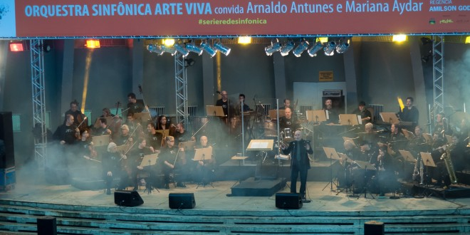 Concerto da Arte Viva com Mariana Aydar e Arnaldo Antunes confirma potencial da Concha Acústica