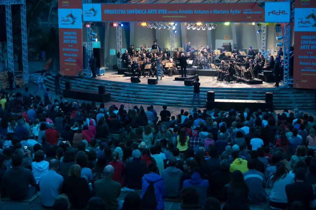 Concerto teve repertório eclético, com clássicos da música brasileira (Foto Martinho Caires)