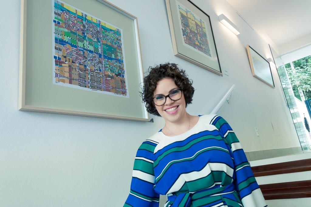 A curadora Patrícia Freitas (Foto Martinho Caires)