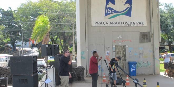 Virada Popular Cultural começa na Praça Arautos da Paz com a marca da diversidade