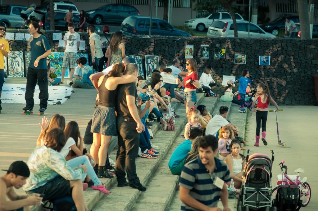 Público diversificado, para um programa plural (Foto Martinho Caires)