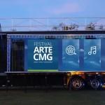 Caminhão-palco do Festival CMG (Foto Divulgação)