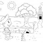 """Uma das cenas de """"Simplesmente Simplio"""", que tem ilustração assinada por Rafael Marques"""