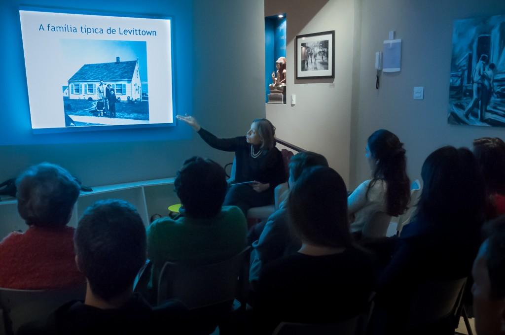 Silvana Rubino falou sobre a contribuição da mulher para o cenário urbano (Foto Martinho Caires)