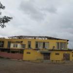 """Telhado do Educandário Eurípedes foi destruído com """"microexplosão"""" de 5 de junho (Foto José Pedro Martins)"""